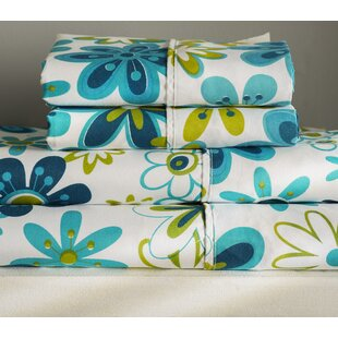 Albro Sheet Set in Blue & Green