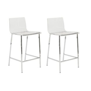 Syd 26 Counter Stool Set of 2 by Everly Quinn