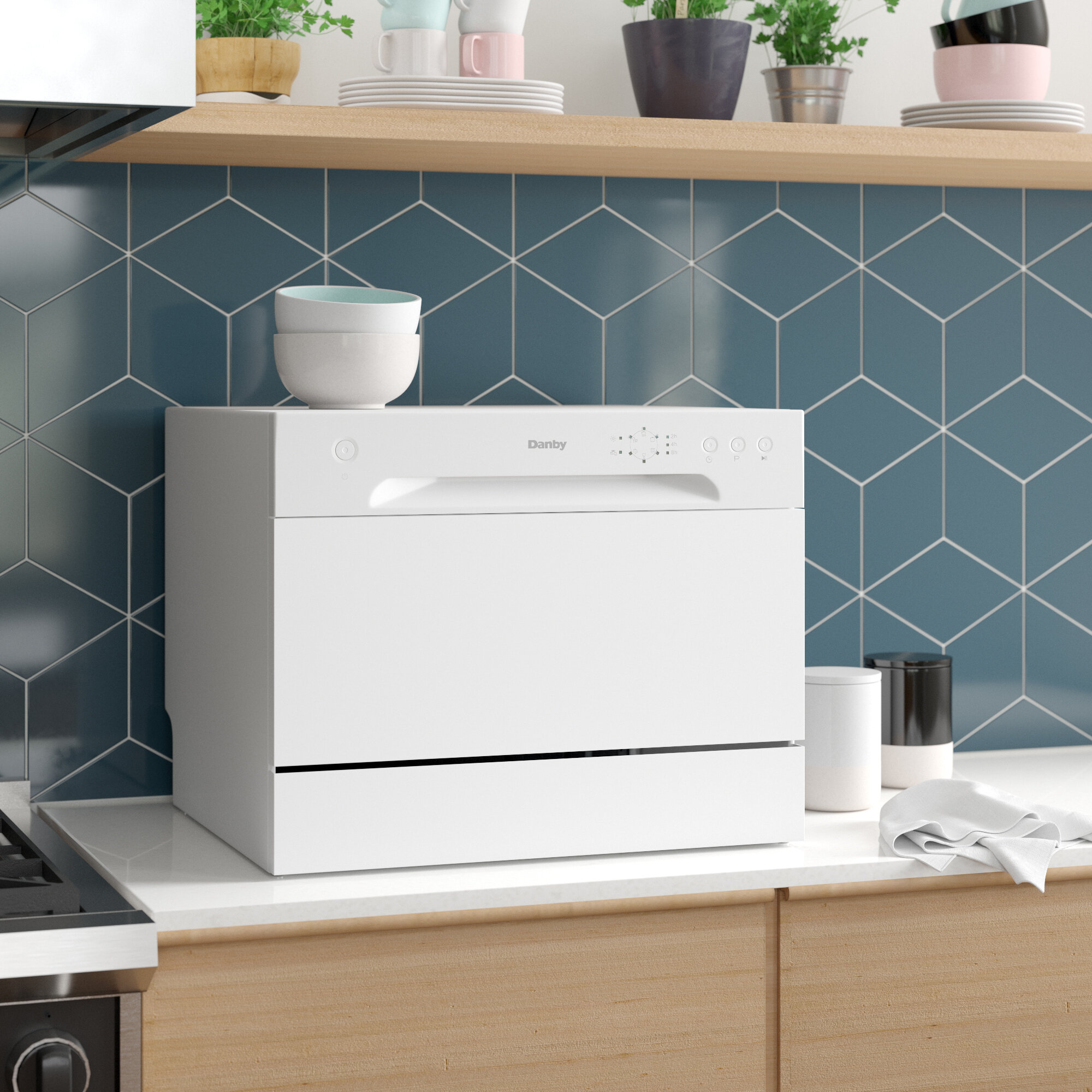 Danby 22 52 Dba Countertop Full Console Dishwasher Reviews Wayfair Ca