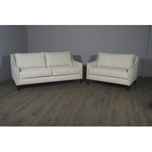 Woodell Suede Loveseat