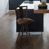 Natascha 30 Swivel Bar Stool by Latitude Run
