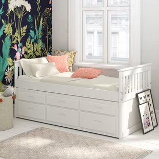 Captains Single Cabin Bed With Trundle And Drawers By Just Kids