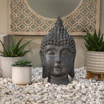 World Menagerie Vanna Buddha Bust Wayfair