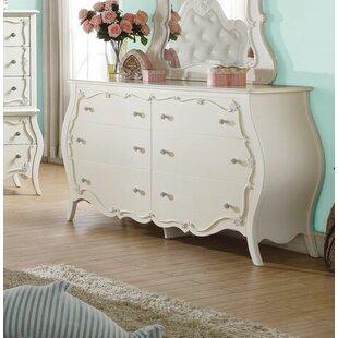 Eddins 6 Drawer Double Dresser by Harriet Bee Purchase