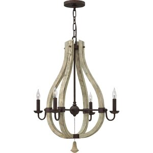 Oceane 4-Light Candle-Style Chandelier