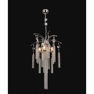 Rosdorf Park Cierra 5-Light Candle Style Chandelier