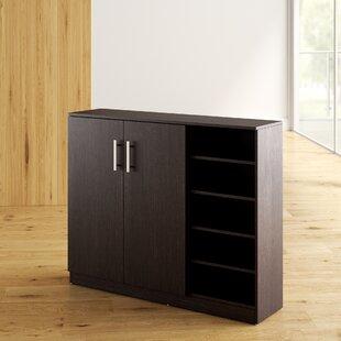 Wade Logan Zachery 15-Pair Shoe Storage Cabinet