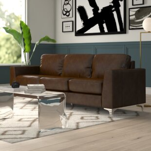 Shupe Leather Sofa