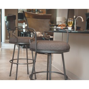 Carbondale 24 Swivel Bar Stool DarHome Co