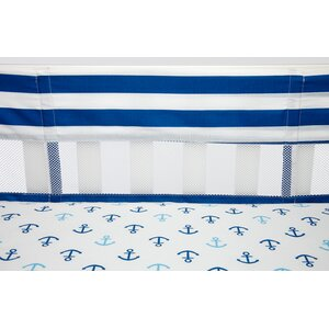 Splish Splash Secure-Me Crib Bumper Liner
