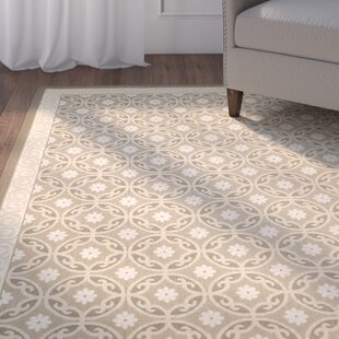 Herefordshire Beige/Cream Indoor/Outdoor Area Rug