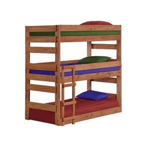 Check Prices Ching Twin over Twin Triple Bed by Harriet Bee Reviews (2019) & Buyer's Guide
