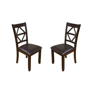 Reviews Annora Designer Solid Wood Dining Chair (Set of 2) by Millwood Pines Reviews (2019) & Buyer's Guide