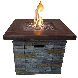 Davey Stone Propane Fire Pit Table
