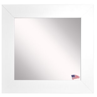 Best Reviews Square Wide Wall Mirror By Latitude Run