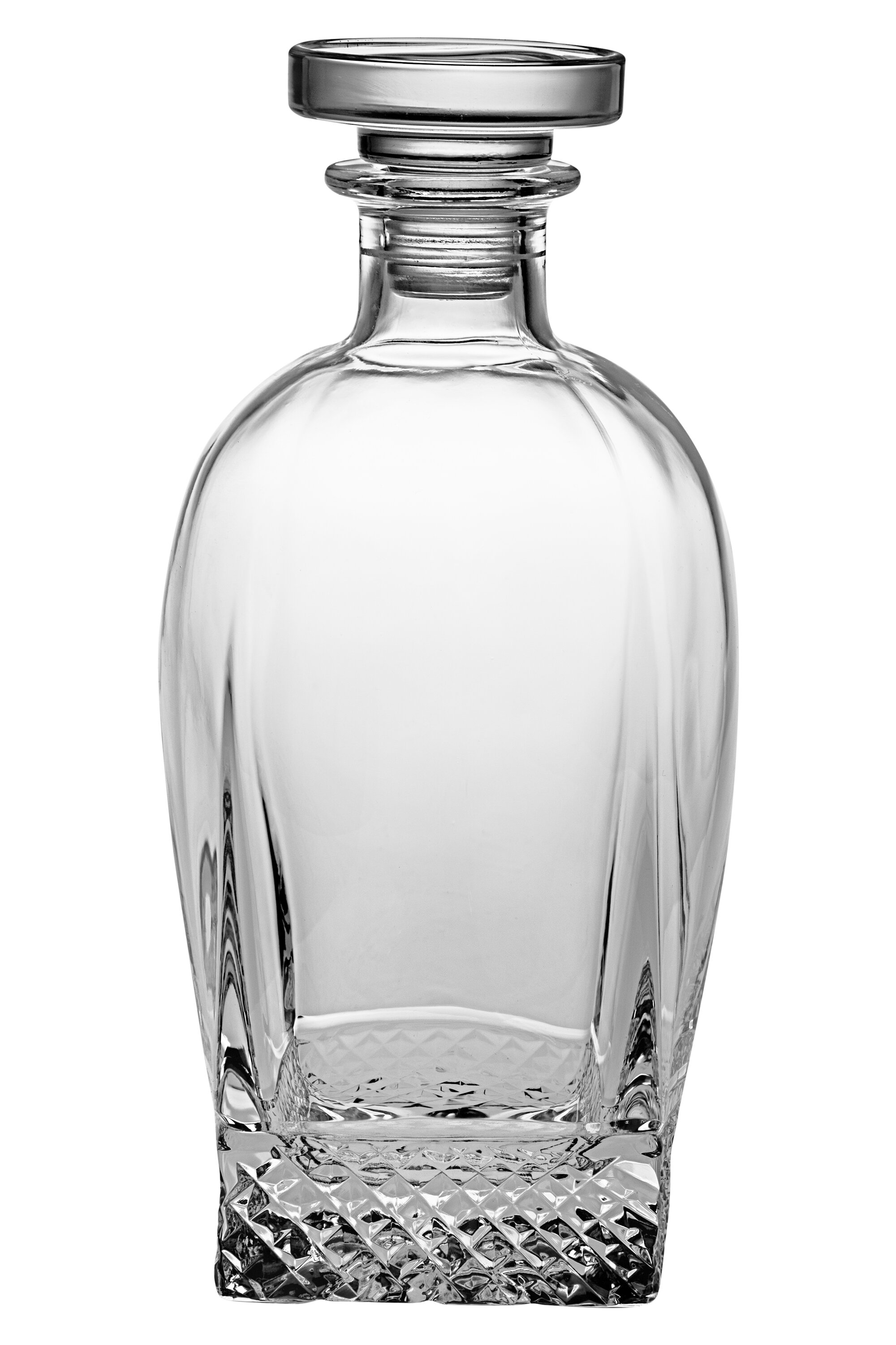 Astoria Grand Meisel Crystal Square 28 Oz Whiskey Decanter Wayfair