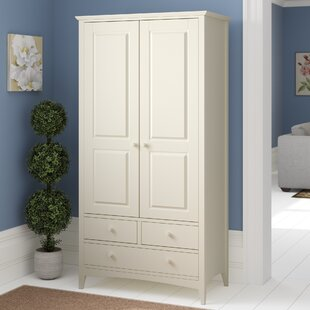 Bishop 2 Door Wardrobe By August Grove