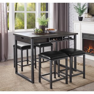 Bock 22 Bar Stool (Set of 2) Williston Forge