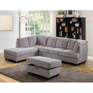 Ebern Designs Southard Sectional with Ott..