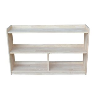 Mitesh Divided Standard Bookcase