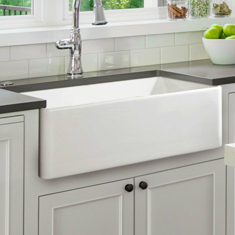 Claypro 30 L X 18 W Farmhouse Kitchen Sink Reviews Wayfair