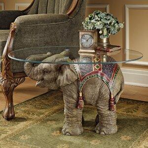 Couchtisch Jaipur Elephant Festival von Design Toscano