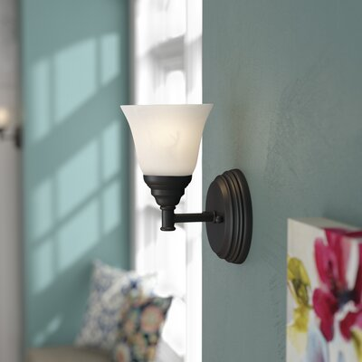 Andover Mills Lottie 1 Light Armed Sconce X111375303 Finish Aged Brass Shefinds
