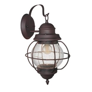 Longshore Tides Osborn 1-Light Outdoor Wall Lantern