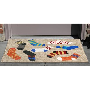 Allgood Hand-Tufted Natural Indoor/Outdoor Area Rug