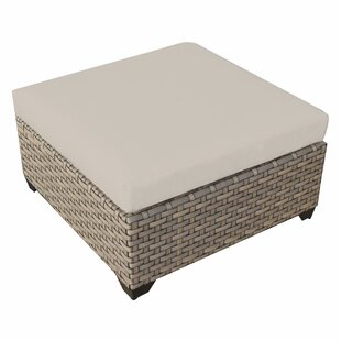 Monterey Outdoor Ottoman with Cushion by TK Classics
