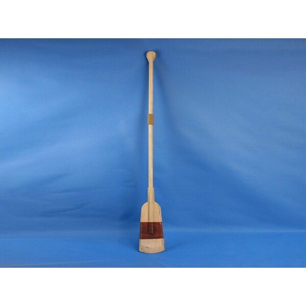 Wetzel 50 Wooden Decorative Squared Rowing Boat Oar Wall Decor