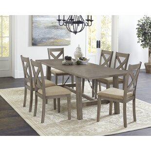Glenn 7 Piece Dining Set Ophelia & Co.