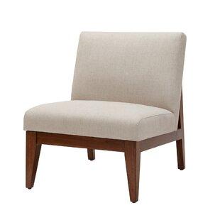 Mistana Emanuel Slant Back Slipper Chair