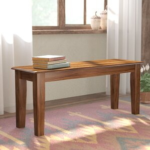 Clarissa Wood Bench by Loon Peak