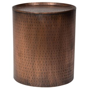 Bastow Hammered End Table