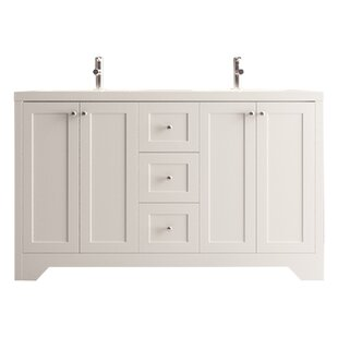 Mata 54 Double Bathroom Vanity Set By Charlton Home