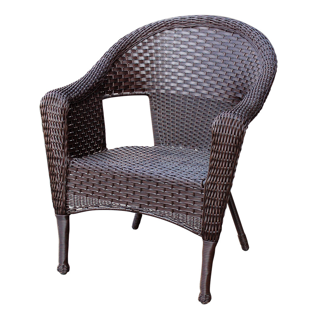 Astonishing Bay Isle Home Winterbury Clark Single Patio Chair Reviews Lamtechconsult Wood Chair Design Ideas Lamtechconsultcom