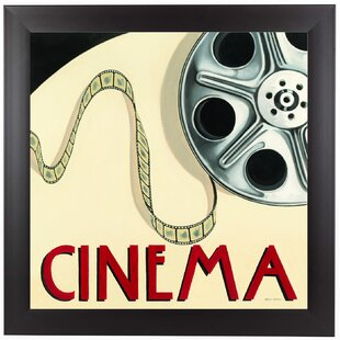 Cinema II Framed Wall Art By East Urban Home