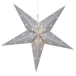 The Holiday Aisle LED 12 Light Indoor/Outdoor Star Lighting