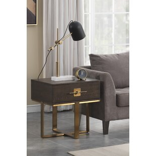 Sandisfield End Table With Storage