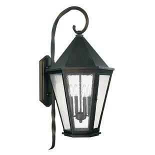 Compare & Buy Spencer 4-Light Outdoor Wall Lantern By Capital Lighting