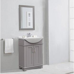 Read Reviews Chandelle Bathroom/Vanity Mirror ByWade Logan