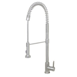 Wells Sinkware Durant Pull Down Single Handle Kitchen Faucet