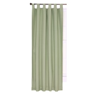 Manchester Solid Blackout Thermal Pinch Pleat Single Curtain Panel