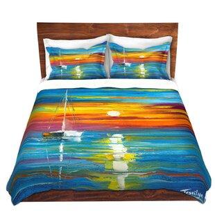 DiaNoche Designs Lost at Sea Duvet Cover Set