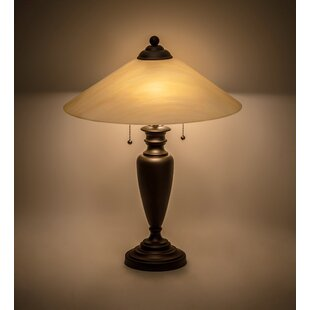 Beige Iridescent 21.5 Table Lamp
