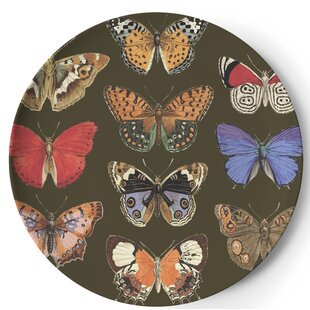 Metamorphosis Round Melamine Platter