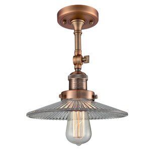 Briar 1-Light Semi Flush Mount..