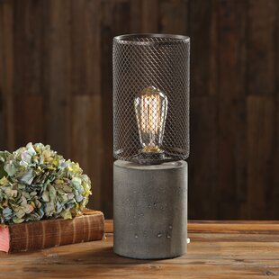 Check Prices Careen Thick Concrete 15 Table Lamp By Williston Forge