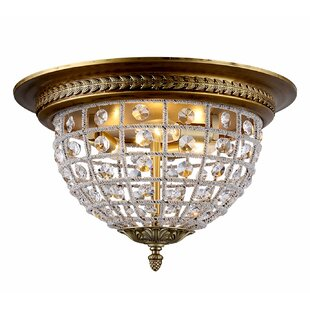 Astoria Grand Franz 3-Light Flush Mount